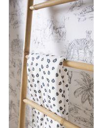 Baby Blanket - 80x100 Cm - Jersey - Leopard