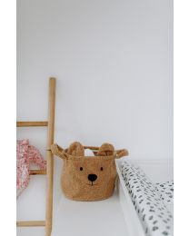 Panier De Rangement - 25x20x20 Cm - Teddy - Beige