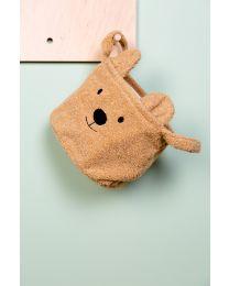 Aufbewahrungskorb - 25x20x20 Cm - Teddy - Beige