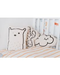 Decorative Cushion - Canvas - Bear