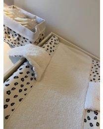 Changing Mat Cover Angel - Jersey - Leopard
