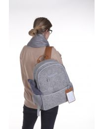 Care Backpack - Felt - Grey