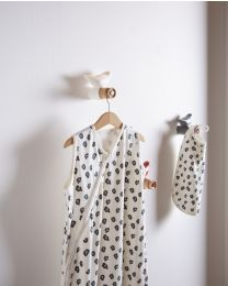 Summer Baby Sleeping Bag - 70-90 Cm - Jersey - Leopard