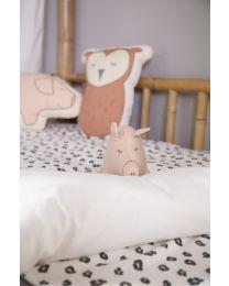 Piglet Cuddly Toy - Jersey - Pink