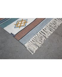 Geometric Kids Rug - 120x160 Cm - Multi Colour