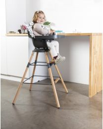 Evolu Extra Set Long Legs + Footrest - Wood - Natural Anthracite