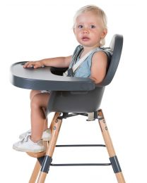 Evolu 2 High Chair - Adjustable In Height (50-75 Cm/*90 Cm) - Natural Anthracite