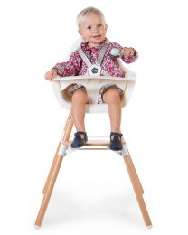 Evolu 2 High Chair - Adjustable In Height (50-75 Cm/*90 Cm) - Natural White