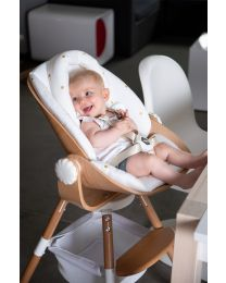 Evolu Newborn Seat Cushion - Jersey - Gold Dots