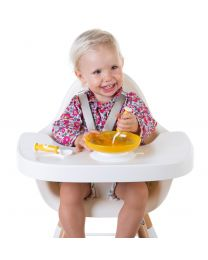 Evolu Feeding Tray - Abs - White