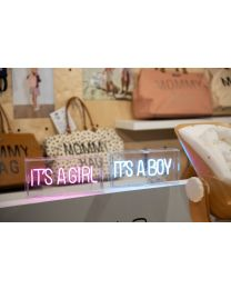 Neon Light Box - It's A Boy - Light Blue