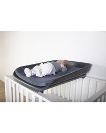 Evolux Wickelaufsatz Für Bett/Laufgitter - Anthrazit
