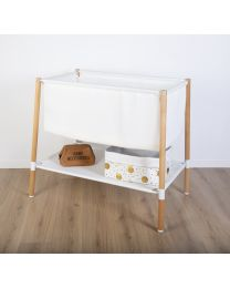 Evolux Crib - 50x90 Cm - Natural White