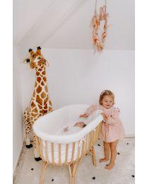 Peluche Debout Girafe - 50x40x135 Cm - Brun Jaune