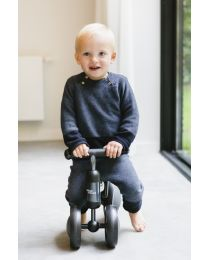 Toddler Balance Bike Vroom - Metal - Grey