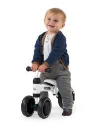 Toddler Balance Bike Vroom - Metal - White