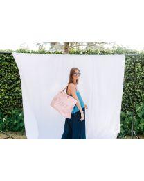 Family Bag Nursery Bag - Pink Copper