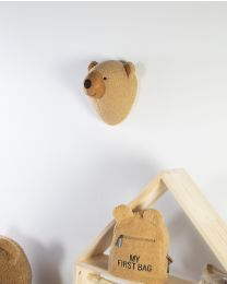Animal Head Teddy Bear - Felt - Wall Decoration
