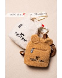 My First Bag Kinderrugzak - Teddy Ecru