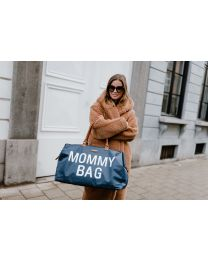 Mommy Bag Wickeltasche - Navy Weiß