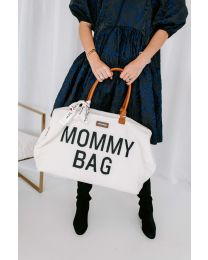 Mommy Bag Nursery Bag - Teddy Off White
