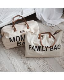 Mommy Bag Sac A Langer - Ecru Noir