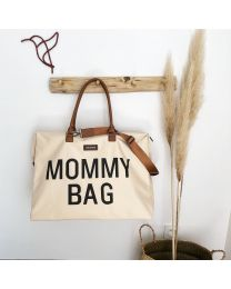 Mommy Bag Verzorgingstas - Ecru Zwart