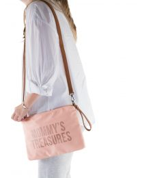 Mommy's Treasures Clutch - Rose Cuivre