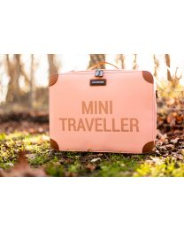 Mini Traveller Kinderkoffer - Roze Koper