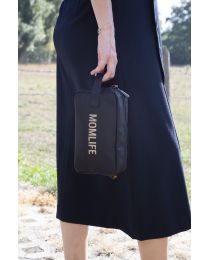 Momlife Trousse De Toilette - Noir Or