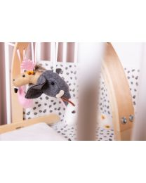 Baby Gym Toys Animal Heads - Felt - Set Of 4
