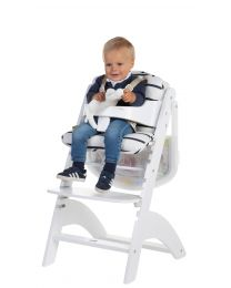High Chair Seat Cushion - Jersey - Marin