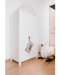Cabin White - Kids Wardrobe - 2 Doors