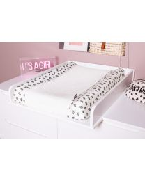 Changing Mat Cover - Jersey + Terry - Leopard