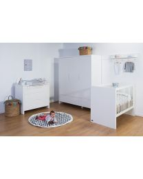 Quadro White - Wall Shelf