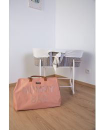 Mommy Bag Verzorgingstas - Roze Koper