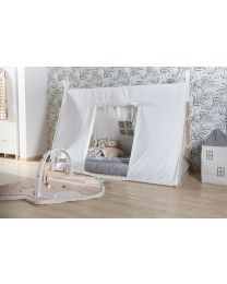 Tipi Bed Cover - 90x200 Cm - White