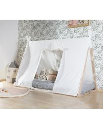 Tipi Bed Cover - 90x200 Cm - Wit