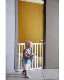 Maestro Door/Stairguard - 73,5-104 Cm - Wood - White