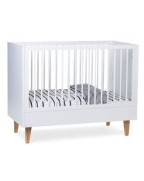 Lalande White - Baby Bed - 60x120 Cm