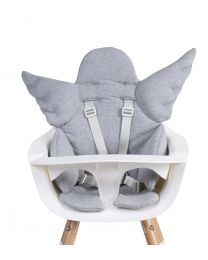 Angel High Chair Seat Cushion Universal - Jersey - Grey