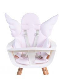 Angel High Chair Seat Cushion Universal - Jersey - Old Pink