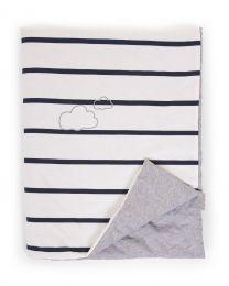 Baby Blanket - 80x100 Cm - Jersey - Marin