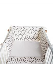 Bed Protection - 35x170 Cm - Jersey - Leopard