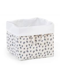 Storage Basket - 32x32x29 Cm - Canvas - Leopard