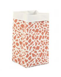 Storage Basket - 32x32x60 Cm - Canvas - Giraffe