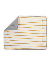 Tapis De Parc - 75x95 Cm - Jersey - Ochre Stripes