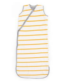 Summer Baby Sleeping Bag - 70-90 Cm - Jersey - Ochre Stripes