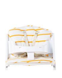 Kinderstoel Kussen Universeel - Jersey - Ochre Stripes
