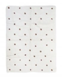 Kids Rug Dots - 120x160cm - Off white/Rust
